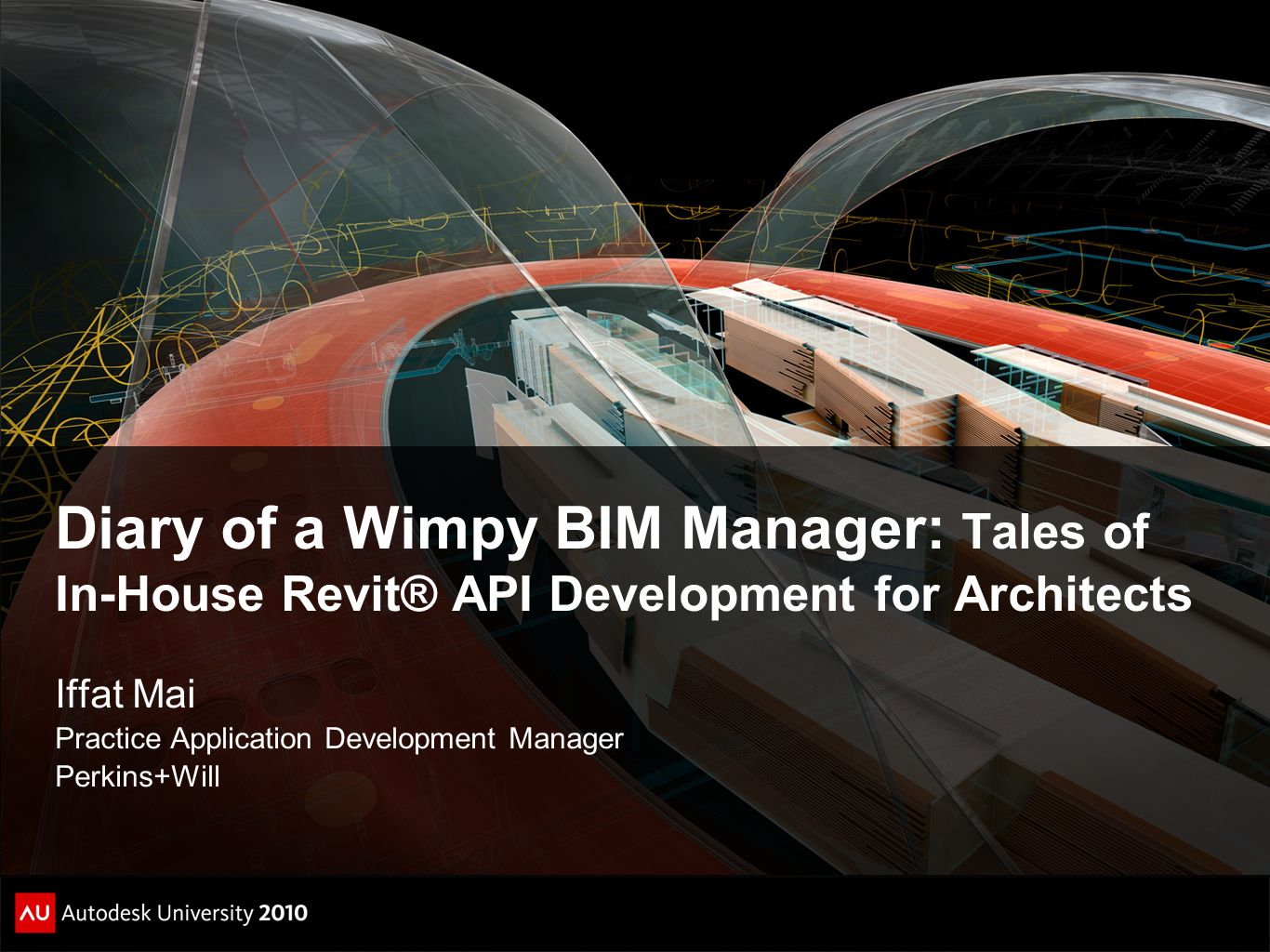 Diary of a Wimpy BIM Manager: Tales of In-House Revit® API Development for Architects