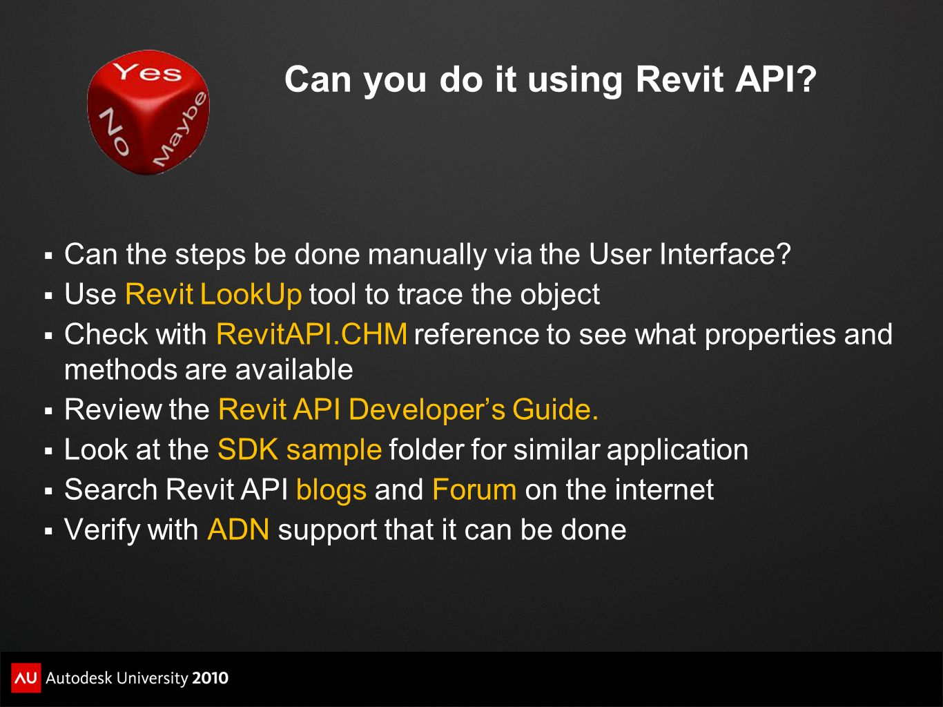Can you do it using Revit API