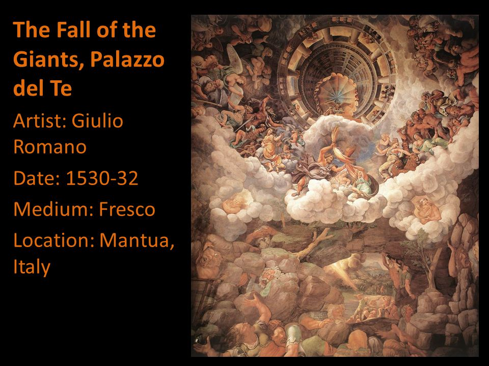 The Fall of the Giants, Palazzo del Te