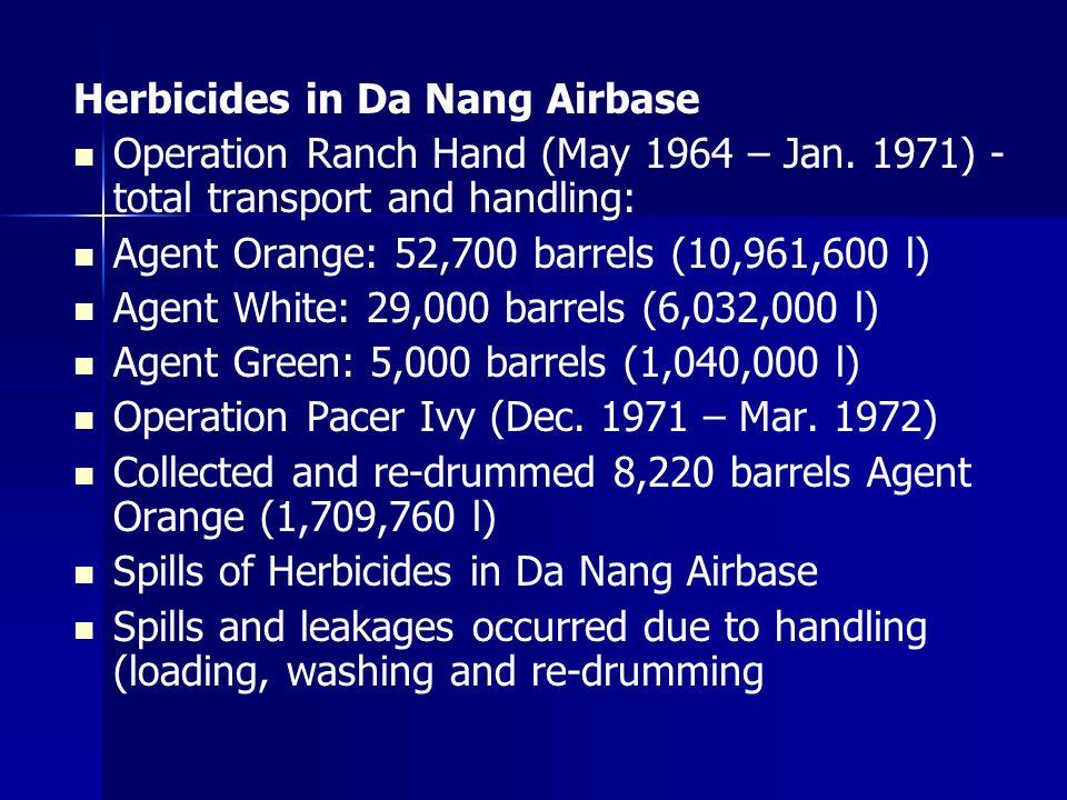 Herbicides in Da Nang Airbase