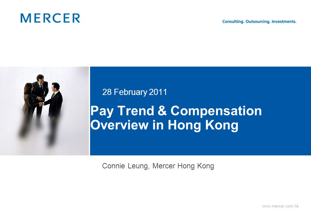 Pay Trend & Compensation Overview in Hong Kong