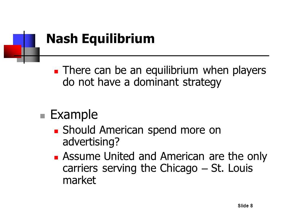 Nash Equilibrium Example