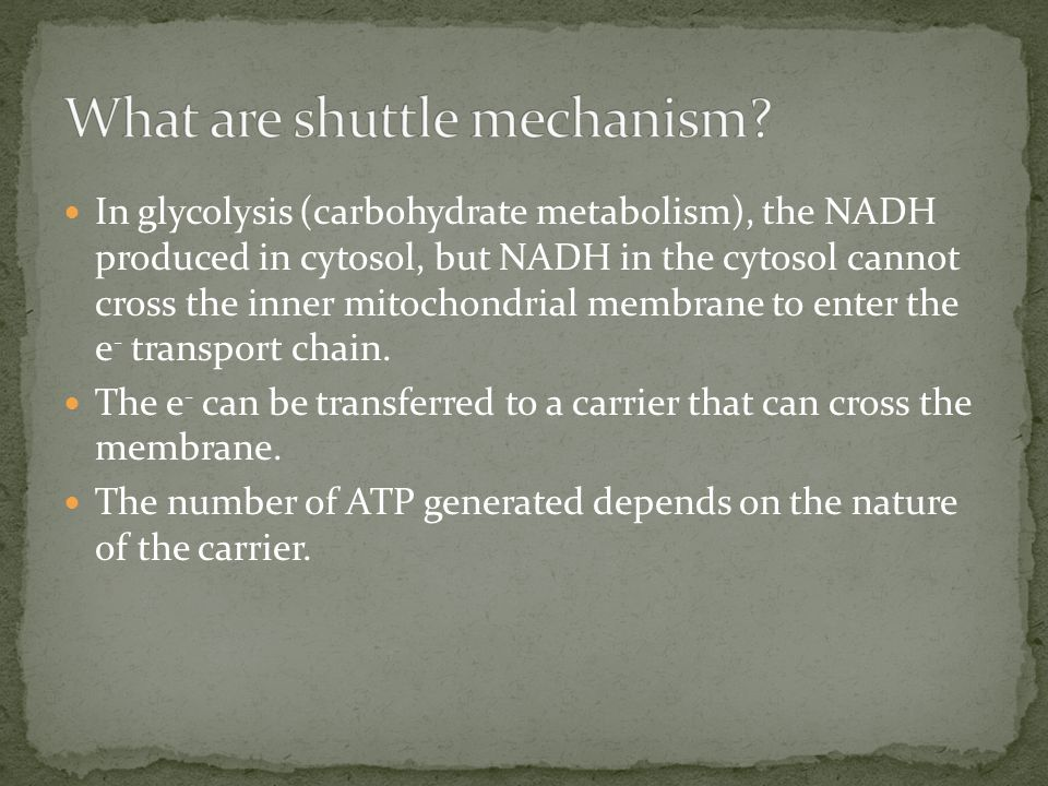 What are shuttle mechanism