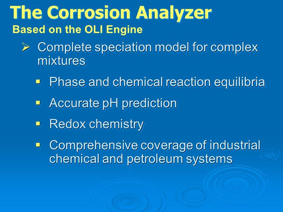 The Corrosion Analyzer