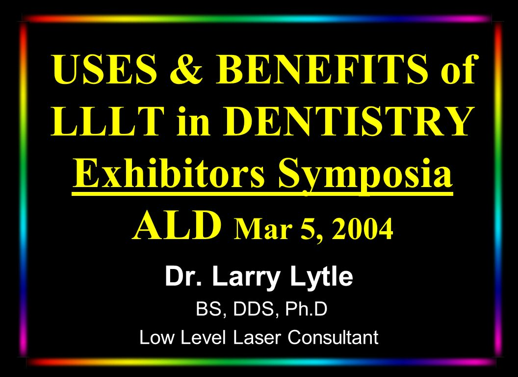 Low Level Laser Consultant