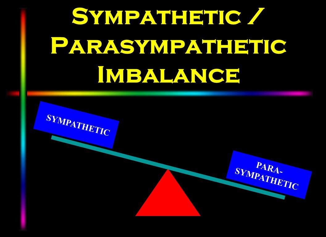 Sympathetic / Parasympathetic Imbalance