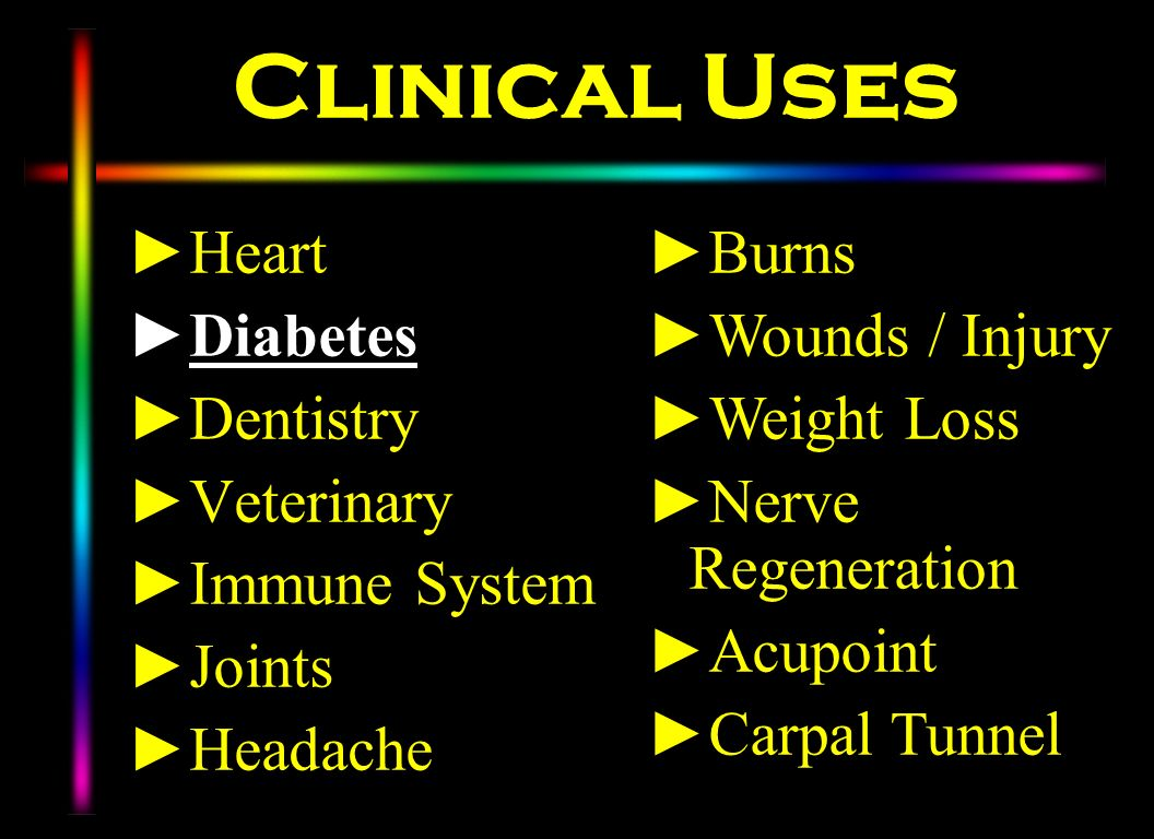 Clinical Uses Heart Diabetes Dentistry Veterinary Immune System Joints