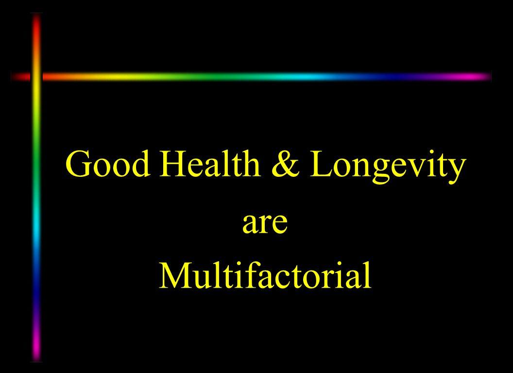 Good Health & Longevity