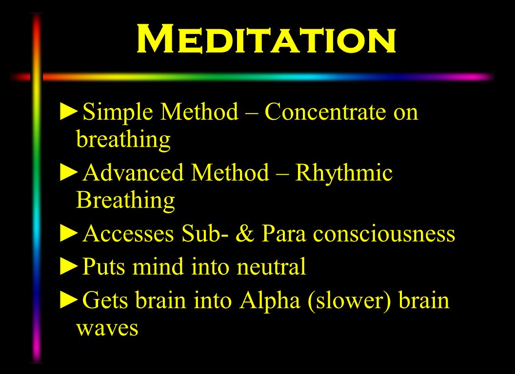 Meditation Simple Method – Concentrate on breathing