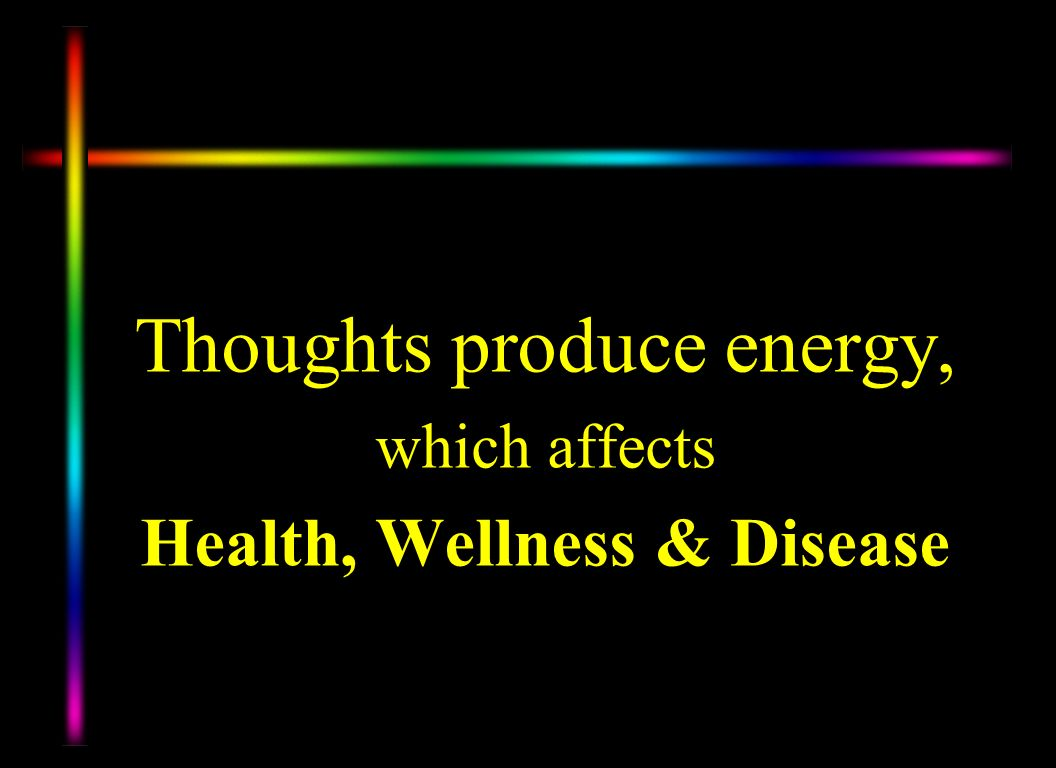 Health, Wellness & Disease