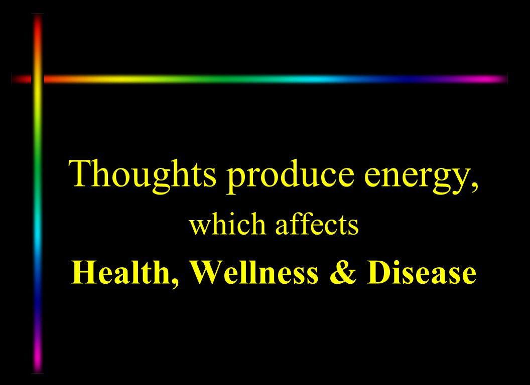 Health, Wellness & Disease