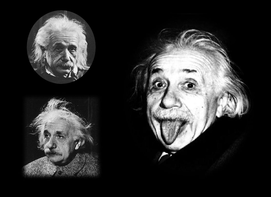 Even though Einstein did not make the first laser he actually was the first to discuss how lasers work
