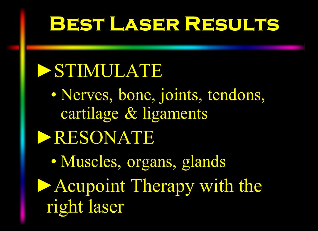 Best Laser Results STIMULATE RESONATE
