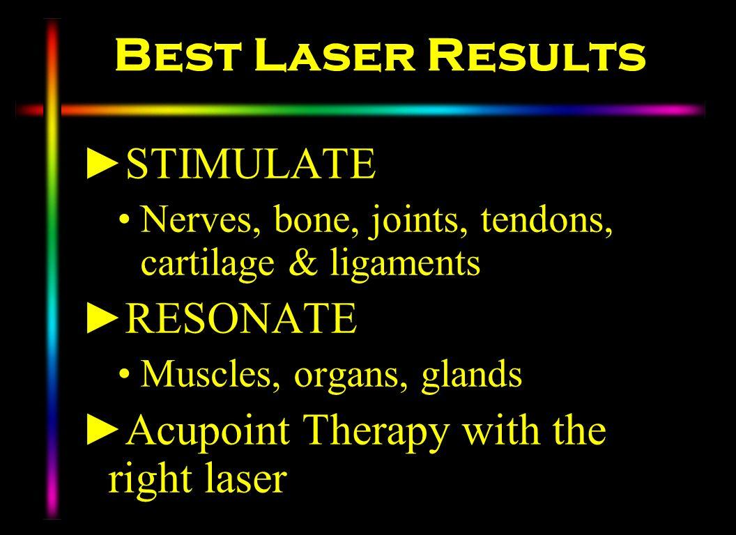 Best Laser Results STIMULATE RESONATE