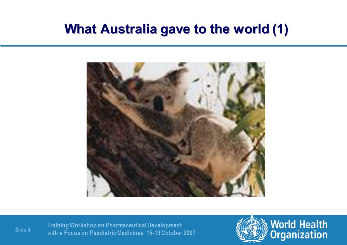 What Australia gave to the world (1)