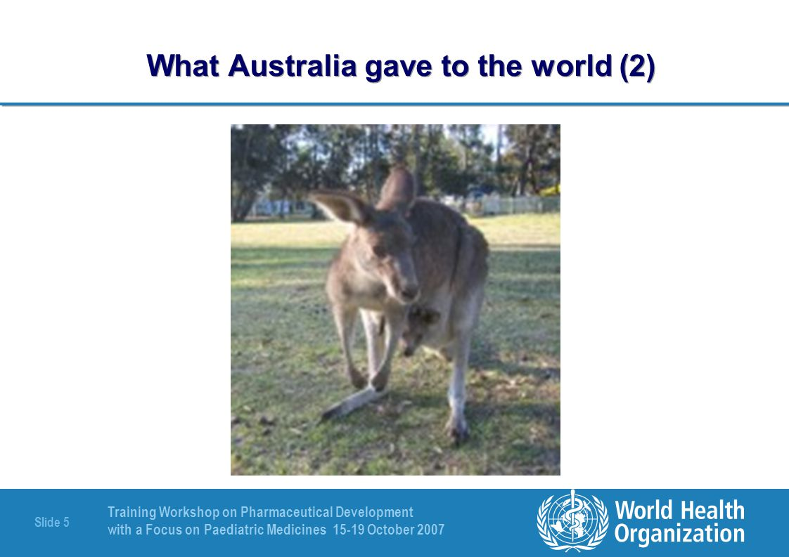 What Australia gave to the world (2)