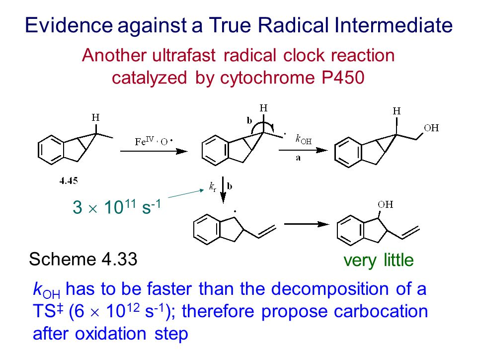 Another ultrafast radical clock reaction catalyzed by cytochrome P450