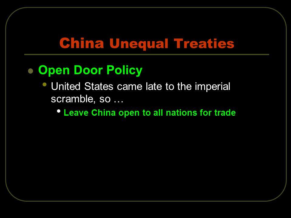 China Unequal Treaties
