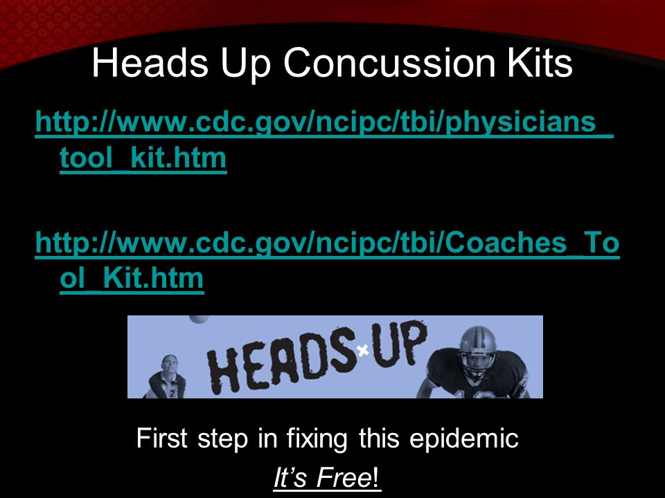 Heads Up Concussion Kits