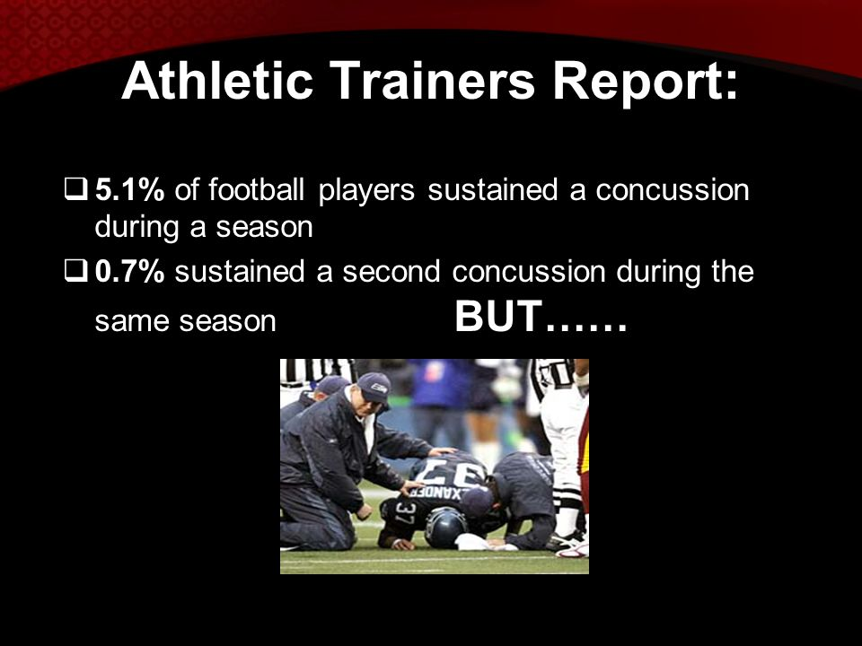 Athletic Trainers Report: