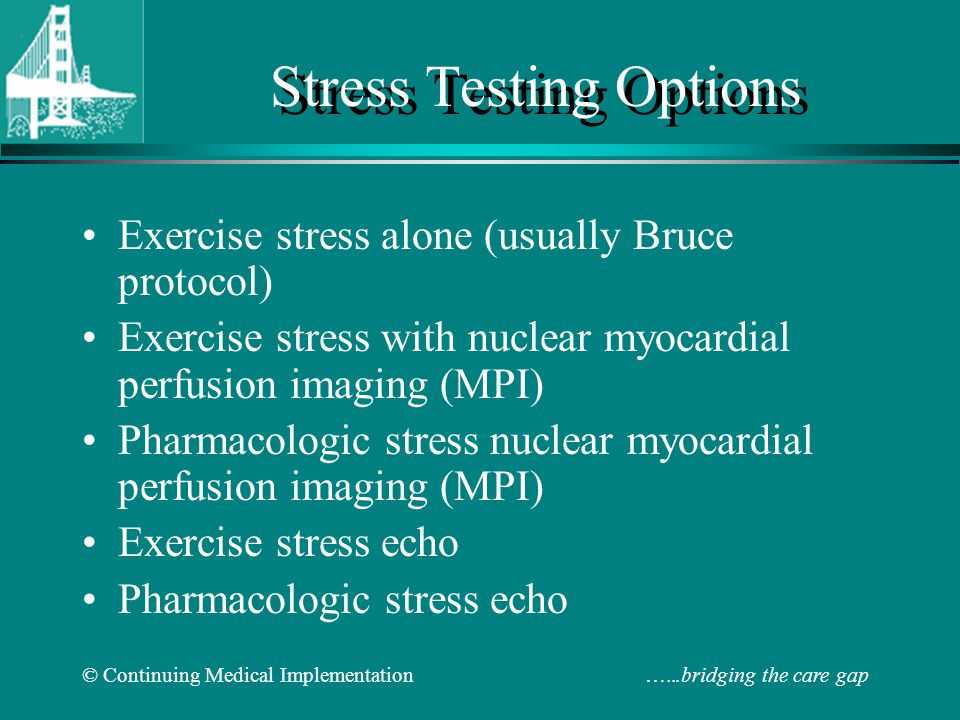 Stress Testing Options