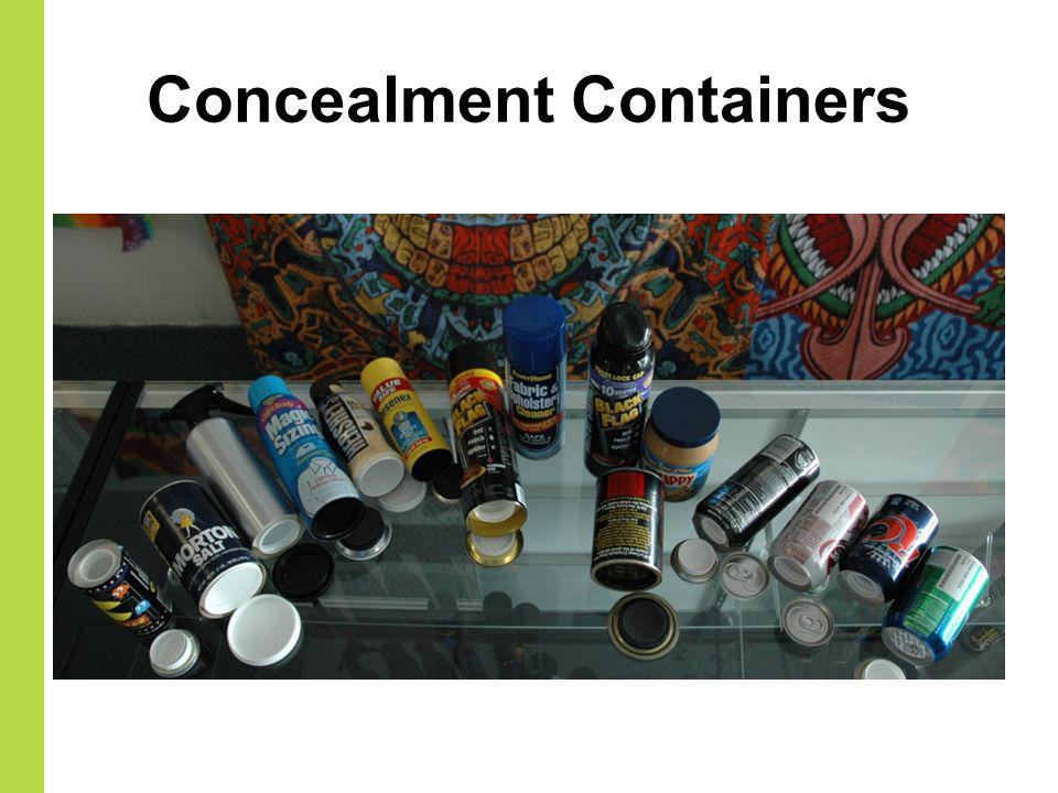 Concealment Containers
