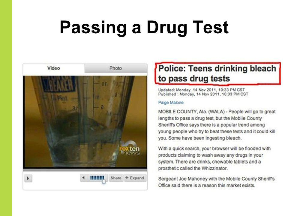 Passing a Drug Test