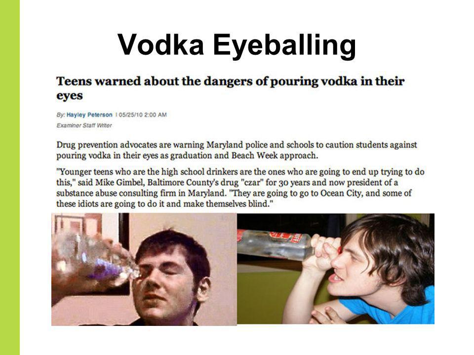 Vodka Eyeballing