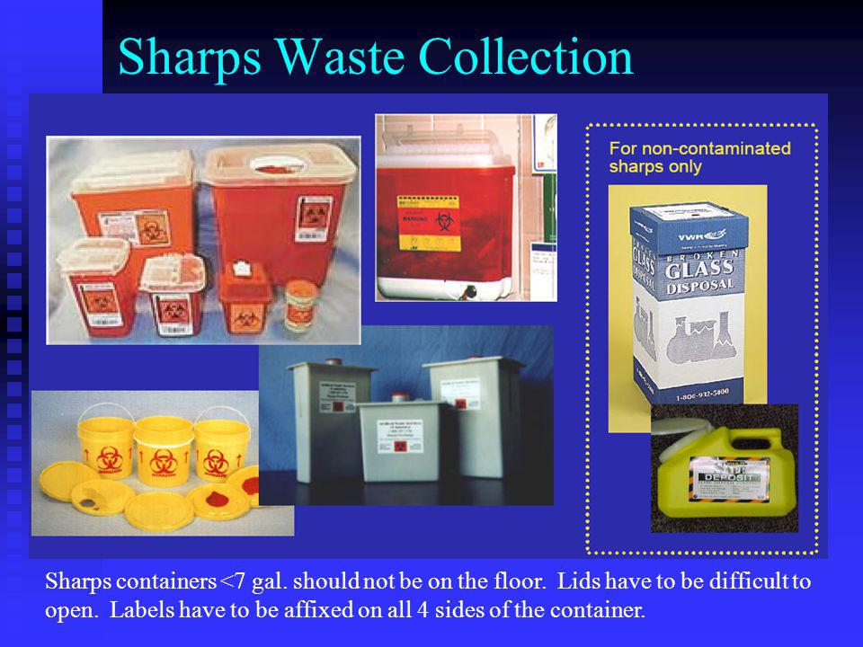Sharps Waste Collection