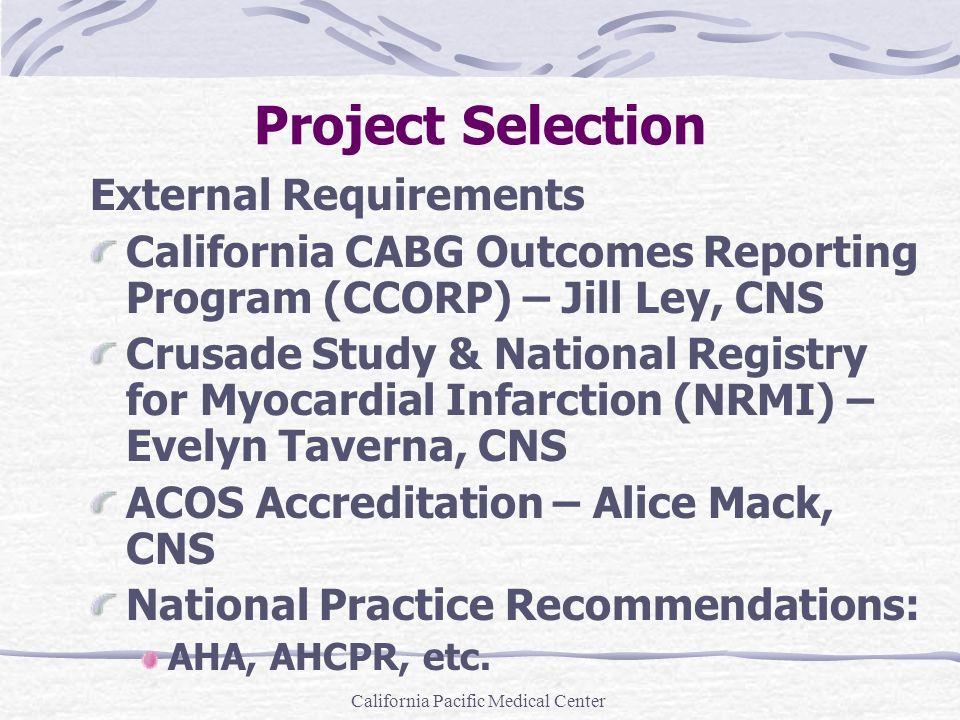 California Pacific Medical Center