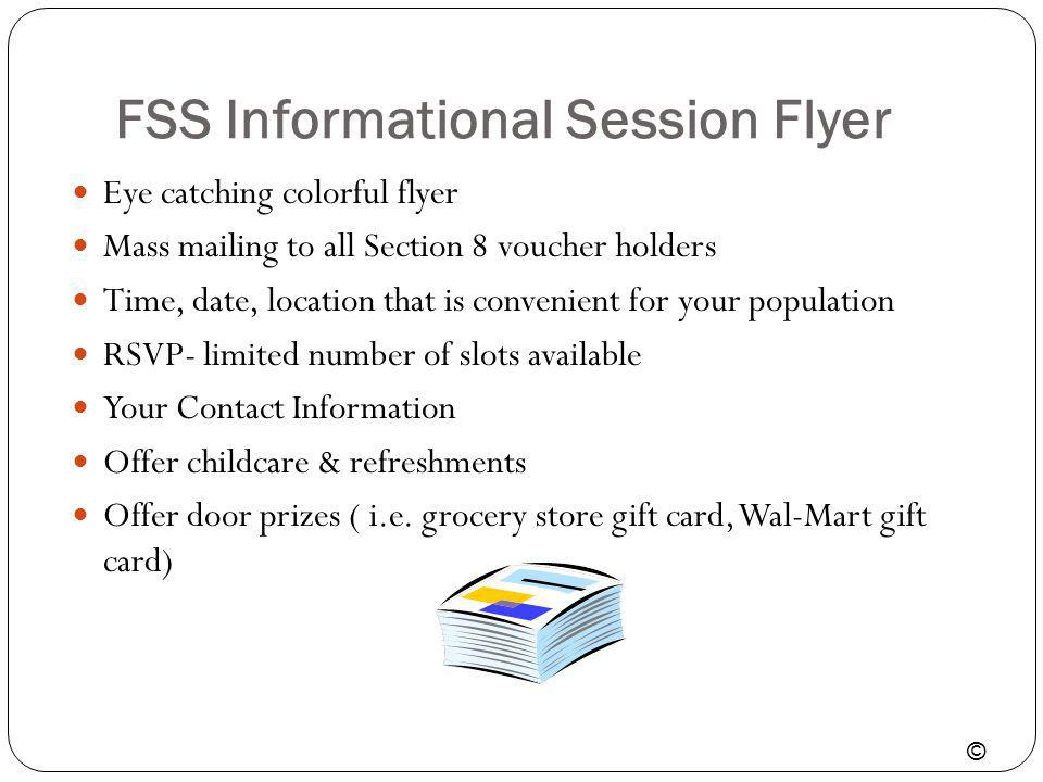FSS Informational Session Flyer