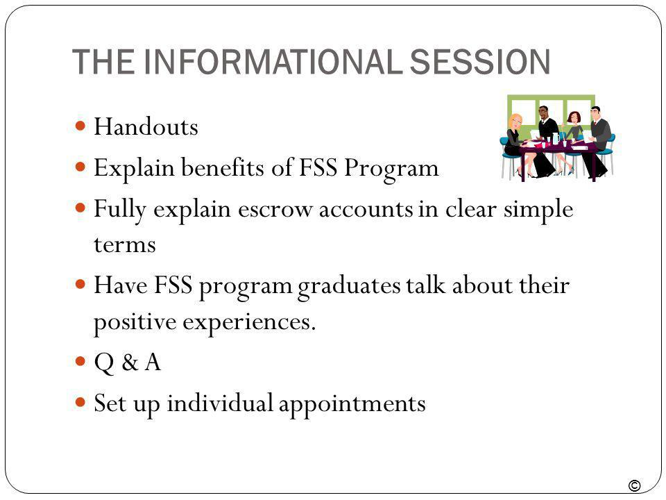 THE INFORMATIONAL SESSION