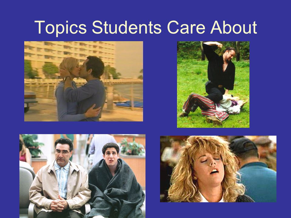 Topics Students Care About
