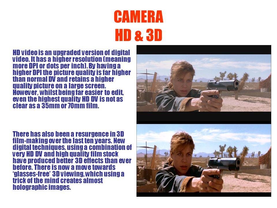 CAMERA HD & 3D