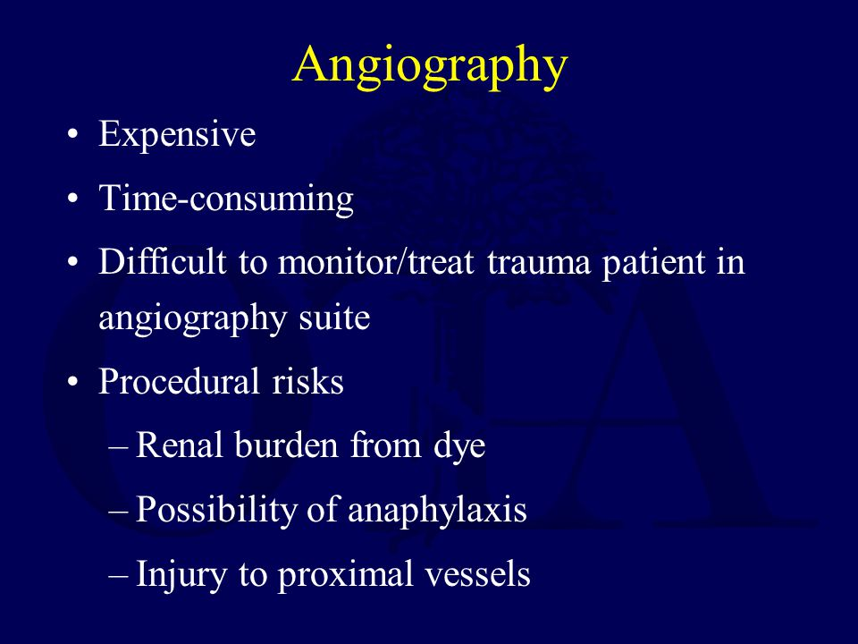 Angiography Expensive Time-consuming