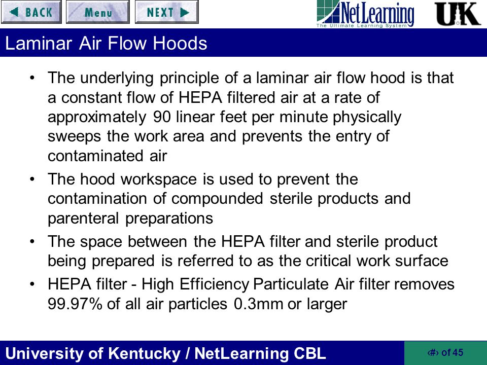 Laminar Air Flow Hoods