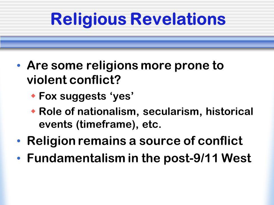 Religious Revelations