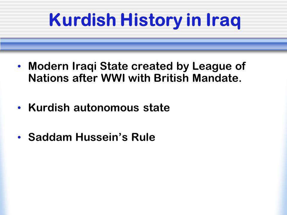 Kurdish History in Iraq