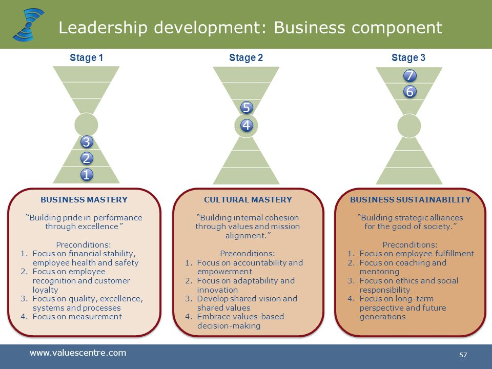 Leadership development: Business component