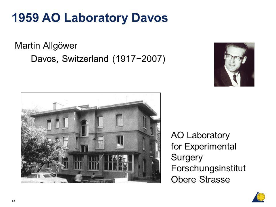 1959 AO Laboratory Davos Martin Allgöwer