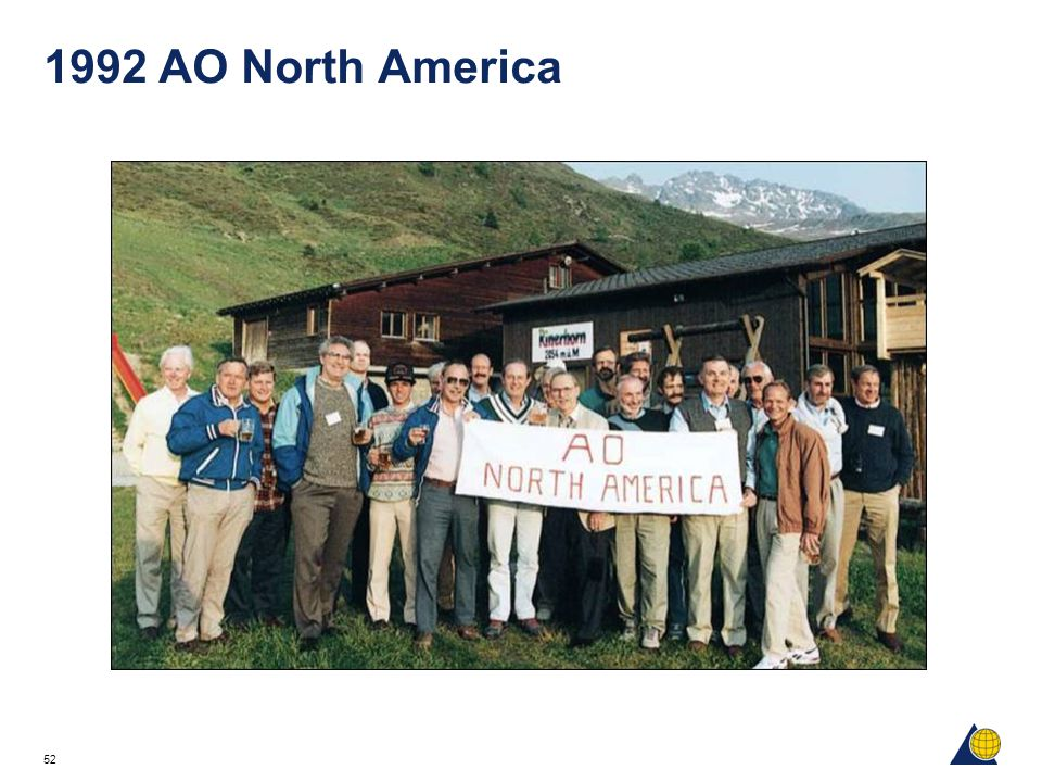 1992 AO North America Seen in this photograph taken in Davos Rinerhorn in June 1992: