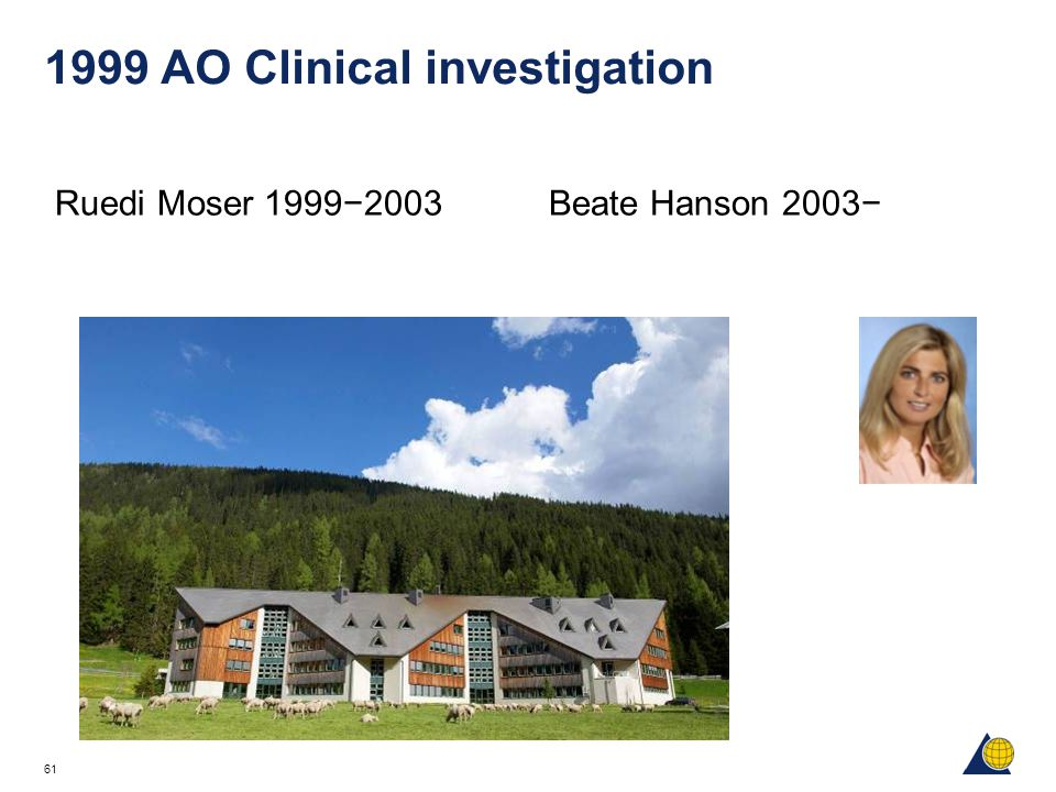 1999 AO Clinical investigation