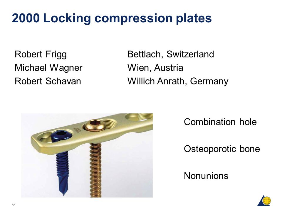 2000 Locking compression plates