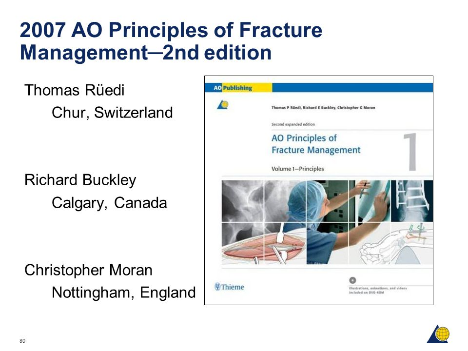 2007 AO Principles of Fracture Management─2nd edition