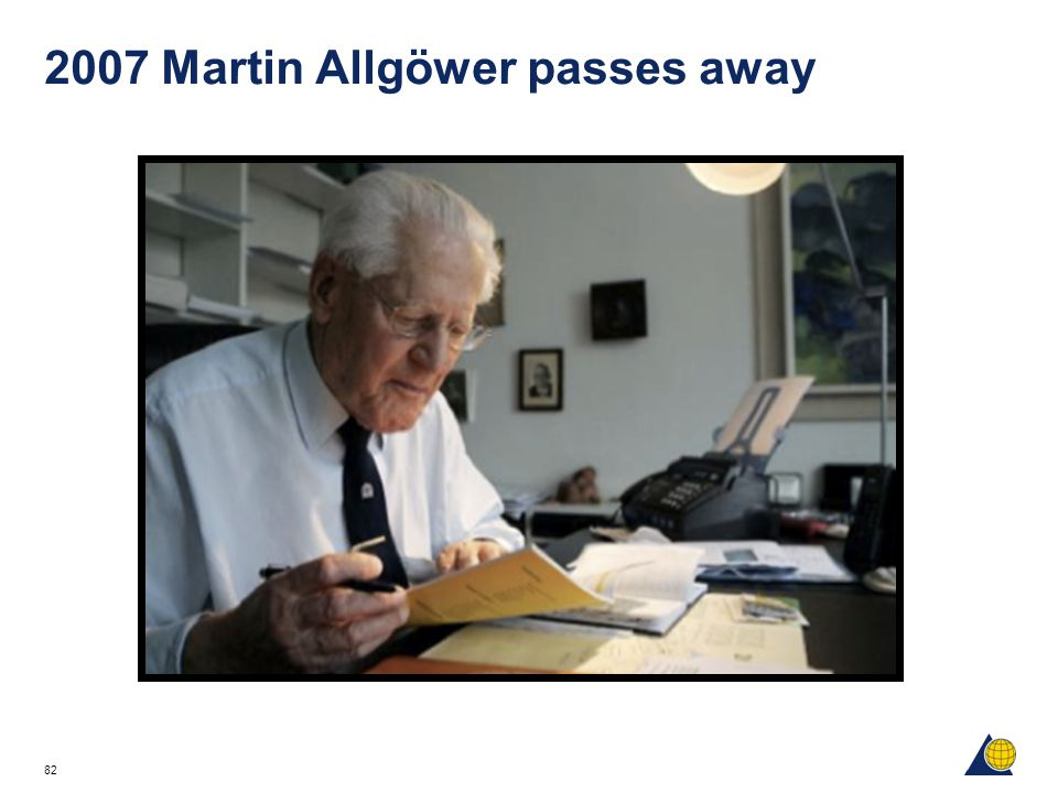 2007 Martin Allgöwer passes away