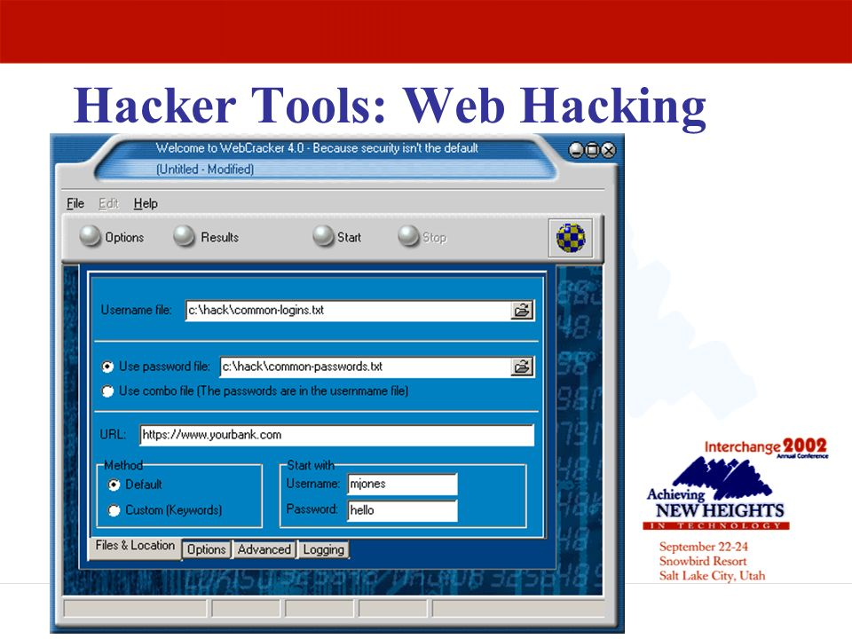 Hacker Tools: Web Hacking