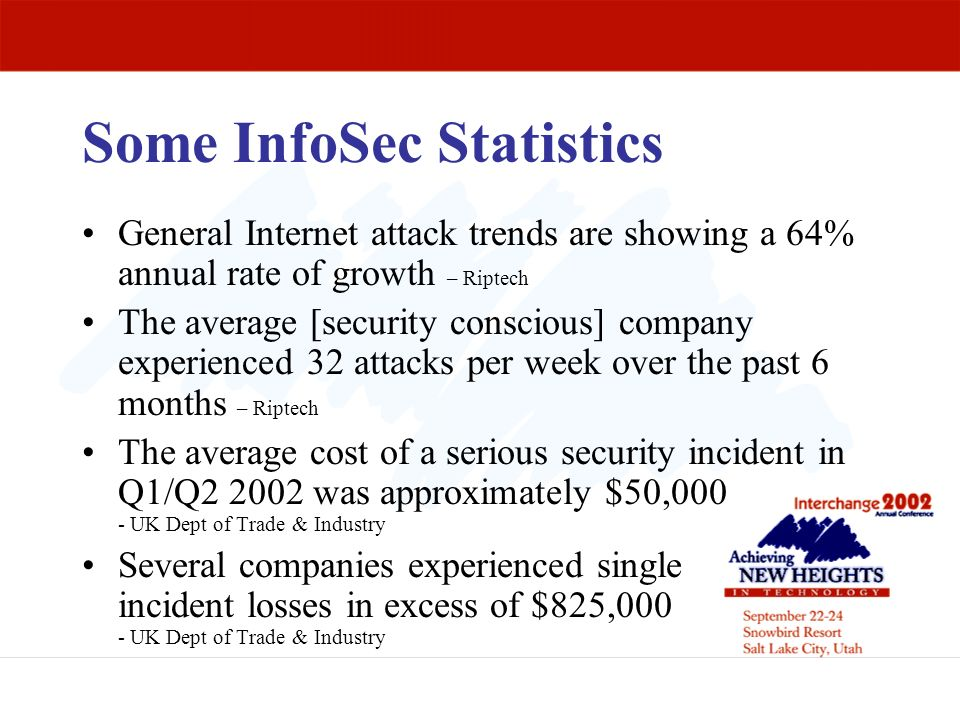 Some InfoSec Statistics