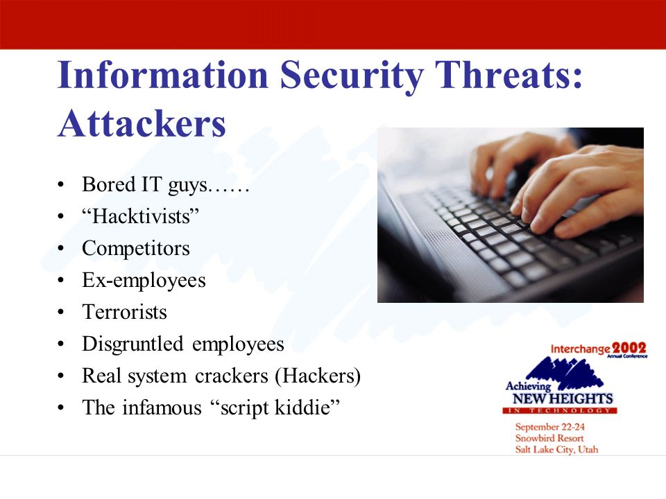 Information Security Threats: Attackers