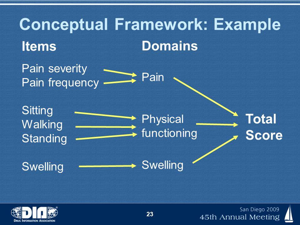 Conceptual Framework: Example