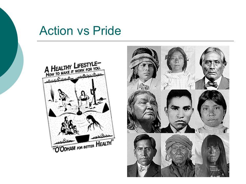 Action vs Pride